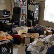 "A 'before"" picture of a home office"