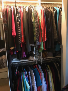 Beat the heat by decluttering your closets