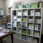 Organize craft or sewing room