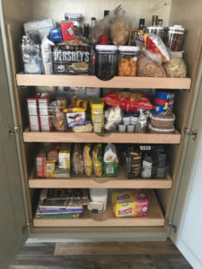 Beat the Heat by decluttering the pantry